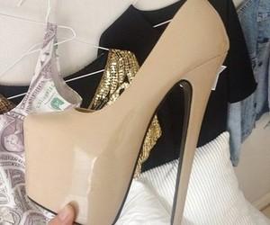 high heels, style, and heels image