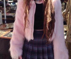 fashion, pink, and grunge image