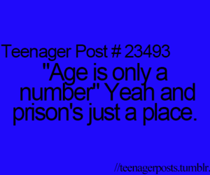 teenager post, age, and prison image