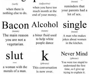 funny, bacon, and single image