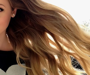 hair, beauty, and blonde image