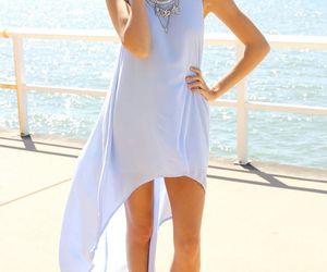 dress and long tail dress image