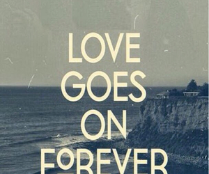 forever, love, and quotes image