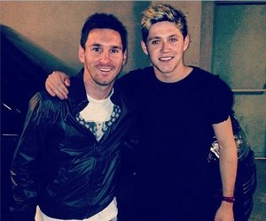 leo messi, soccer, and niall image