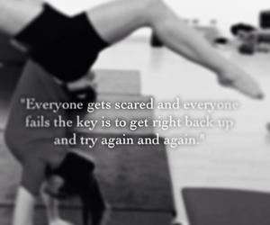 black&white, stretch, and gymnastics image