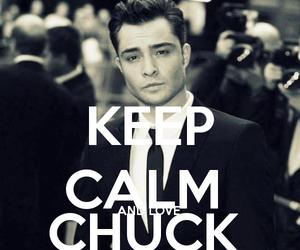 gossip girl, chuck bass, and keep calm image