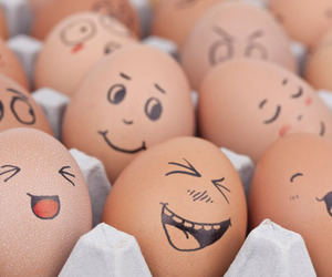 eggs, egg, and face image