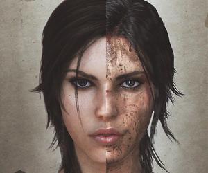 lara croft, tomb raider, and video game image