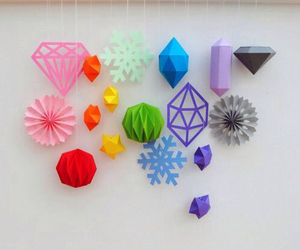 colorful, decoration, and Paper image