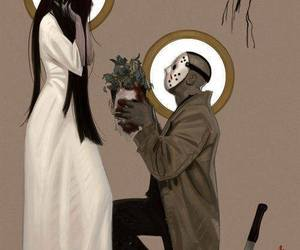 love, jason, and horror image