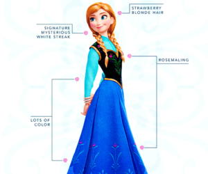 disney, frozen, and anna image