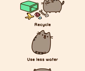 earth day, cat, and pusheen image