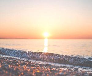 beach, sun, and summer image