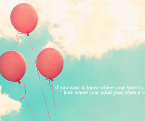 balloons color quote sky image