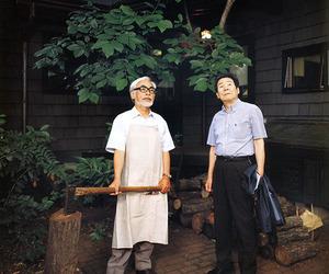 Hayao Miyazaki, isao takahata, and studio ghibli image