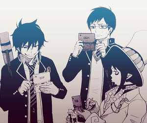 ao no exorcist, rin, and blue exorcist image
