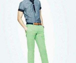 green, kfashion, and korean image