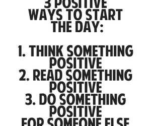 positive and quotes image