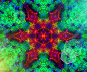 colors, psytrance, and trance image