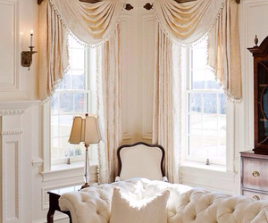 chic, curtains, and french image