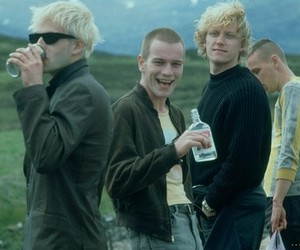 alcohol, boys, and trainspotting image