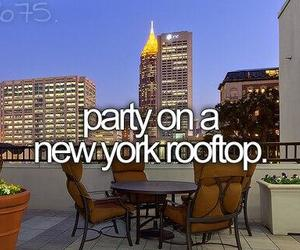 party, new york, and before i die image
