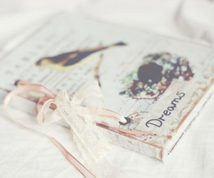 Dream, book, and vintage image