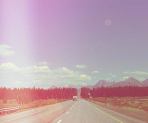 road, vintage, and tumblr image