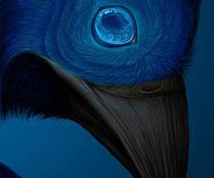 art, raven, and harry potter image