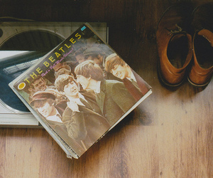the beatles, vintage, and music image