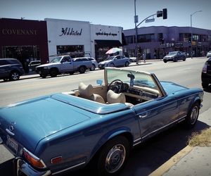 car, l.a., and los angeles image