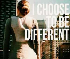 divergent, tris, and different image