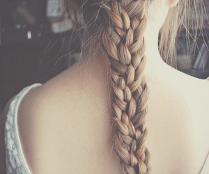braid, cool, and summer image
