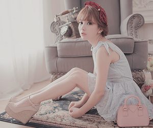 ulzzang, cute, and dress image