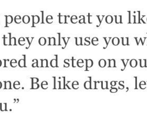 quote, drugs, and cigarette image