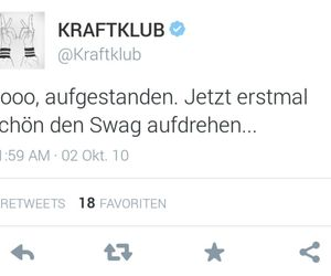 swag, hahahahaa, and kraftklub image