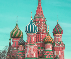 cathedral, cityscape, and Red Square image