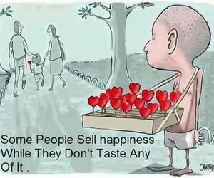 happiness, sad, and quotes image