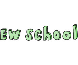 school, overlay, and ew school image