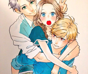 hirunaka no ryuusei, manga, and anime image