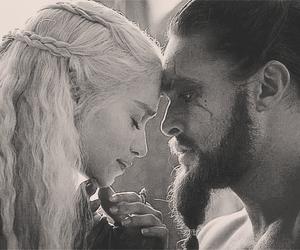 game of thrones, love, and daenerys targaryen image