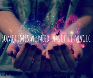 magic, hands, and quote image