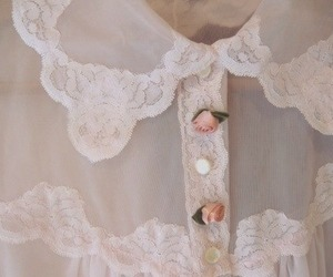 pink, rose, and lace image