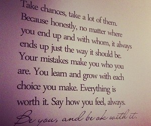 quotes, life, and chance image