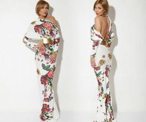 dress, elegance, and fashion image