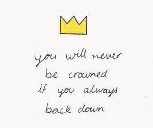 quotes, crown, and life image