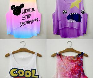 cool, shirt, and galaxy image