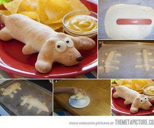 food, dog, and diy image