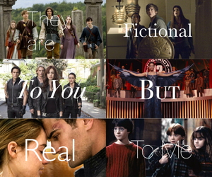 divergent, harry potter, and narnia image