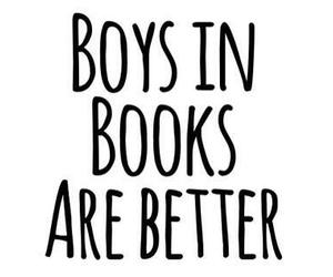 book, boy, and true image